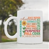 Autumn football pumpkins harvest Coffee Mug