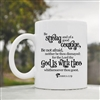 Be strong and of a good courage style 2 Coffee Mug