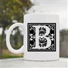 B square letter Coffee Mug