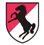 11th armored cavalry regiment blackhorse Vinyl Decal Sticker
