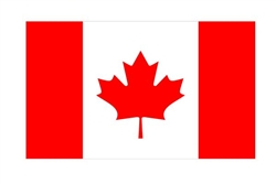 Canada Flag Vinyl Decal Sticker