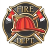 Fire Department Dept Fire Fighter Vinyl Decal Sticker
