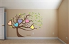 Hearts In Tree S4x488304 Vinyl Wall Art Decal Peel and Stick Sticker