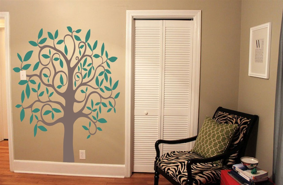 Wall graphics wall art wall decal wall sticker wall for Custom vinyl mural prints