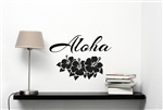 Aloha Vinyl Wall Art Decal Sticker