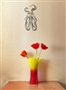 Ballerina Shoes Ballet Dancer Vinyl Wall Art Decal Sticker