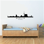 BERLIN Germany Skyline. Vinyl Wall Art Decal Sticker