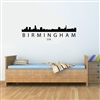 BIRMINGHAM UK Skyline. Vinyl Wall Art Decal Sticker