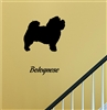 Bolognese Sihoulette Vinyl Wall Art Decal Sticker