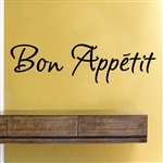 Bon Appetit Vinyl Wall Art Decal Sticker