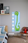 Cute Boys Growth Chart Vinyl Wall Art Decal Peel and Stick Sticker