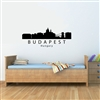 Budapest Hungary City Skyline Vinyl Wall Art Decal Sticker