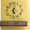 Busymom clock Vinyl Wall Art Decal Sticker