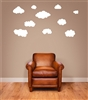 Clouds Vinyl Wall Art Decal Sticker