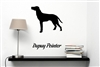 Dupuy Pointer Silhouette Vinyl Wall Art Decal Sticker