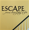 Escape from everyday life Vinyl Wall Art Decal Sticker