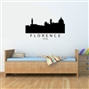 Florence Italy City Skyline Vinyl Wall Art Decal Sticker