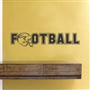 FOOTBALL Vinyl Wall Art Decal Sticker