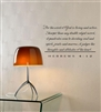 For the word of God is living and active. Sharper than any double-edged sword, it penetrates even to dividing soul and spirit, joints and marrow; it judges the thoughts and attitudes of the heart. HEBREWS 4:12 Vinyl Wall Art Decal Sticker