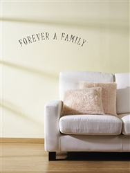 Forever A Family Vinyl Wall Art Decal Sticker
