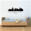 FRANKFURT Germany City Skyline Vinyl Wall Art Decal Sticker