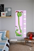 Cute Girls Growth Chart Vinyl Wall Art Decal Peel and Stick Sticker