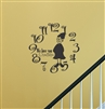 Grandma Clock Vinyl Wall Art Decal Sticker