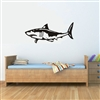 Great White Shark Vinyl Wall Art Decal Sticker