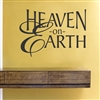 Heaven -on- Earth hands Silhouette Vinyl Wall Art Decal Sticker