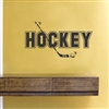 Hockey Vinyl Wall Art Decal Sticker