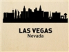 LAS VEGAS Nevada City Skyline Vinyl Wall Art Decal Sticker