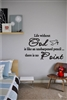 Life without God is like an unsharpened pencil...  there is no point Vinyl Wall Art
