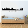 LONDON UK City Skyline Vinyl Wall Art Decal Sticker