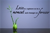 Love... captures us in a moment and changes us forever Vinyl Wall Art Decal Sticker