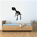 T-Rex skeleton Vinyl Wall Art Decal Sticker