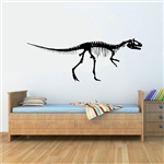 T-Rex skeleton style 2 Vinyl Wall Art Decal Sticker