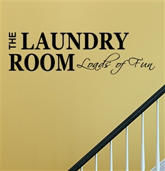The laundry room Loads of fun Vinyl Wall Art Decal Sticker
