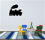 Train silhouette Vinyl Wall Art Decal Sticker