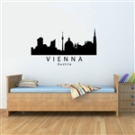 VIENNA Austria City Skyline Vinyl Wall Art Decal Sticker