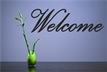 Welcome Vinyl Wall Art Decal Sticker