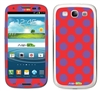 Purple and Red Polka Dots Phone Skin Decal Sticker