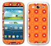 Orange bursts SASKIN38832 Phone Skin Decal Sticker