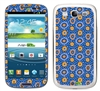 Blue and Orange Circles SASKIN38837 Phone Skin Decal Sticker