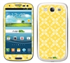 Yellow Flower Pattern SASKIN38847 Phone Skin Decal Sticker