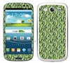 Green Flower Pattern SASKIN38849 Phone Skin Decal Sticker