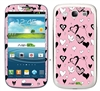 SoftPink Hearts SASKIN38858 Phone Skin Decal Sticker