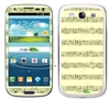 Musical Notes SASKIN38859 Phone Skin Decal Sticker