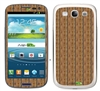 Wood Panel Wall SASKIN38911 Phone Skin Decal Sticker