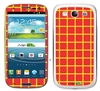 Orange Squares SASKIN38913 Phone Skin Decal Sticker