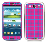 Hotpink Squares SASKIN38914 Phone Skin Decal Sticker